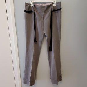 Stooshy Wide Boot Cut Gray Pants - Juniors